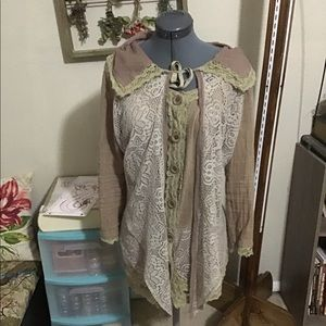 Pretty Angel Long Blouse